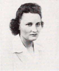 Nellie's 1945 college yearbook photo