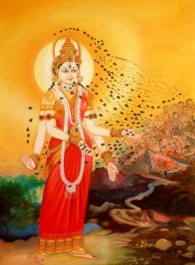 indian-bee-goddess goddess Bhramari Devi