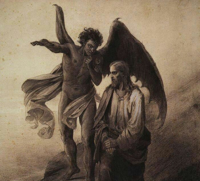 lucifer temptation of christ