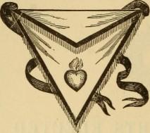 Flaming Heart on Apron Scottish Rite