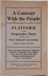 PamphletFrontPageProgressivePartyPlatform1912