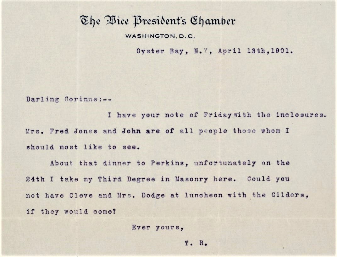 VP TR Letter 3rd Degree