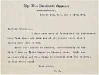 VP TR Letter 3rd Degree