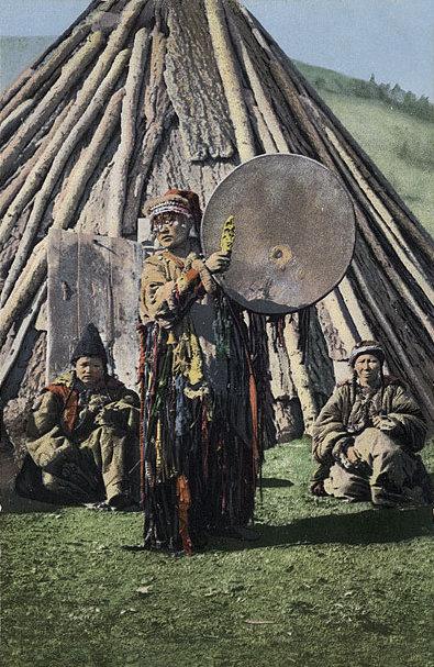 Female Shaman Khakas 1908