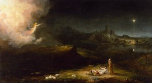 The Angels Appearing to the Shepherds by Thomas Cole